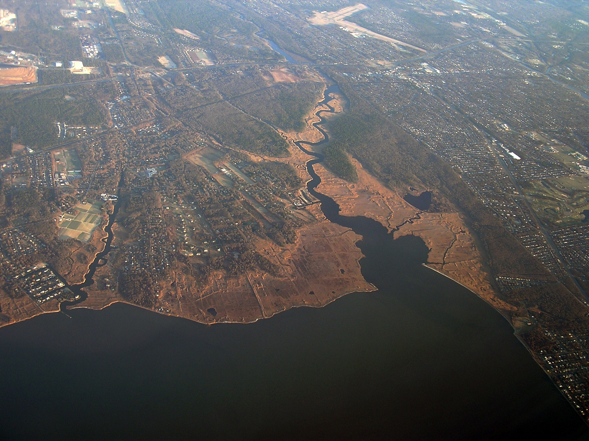 Long Island Aerial Carmans River